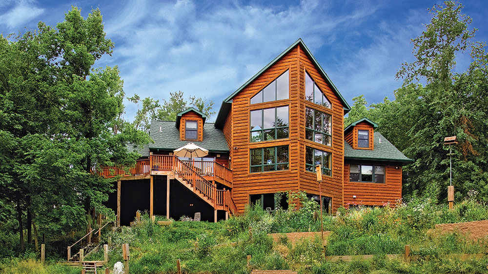 How to Heat and Cool Your Log Home Efficiently