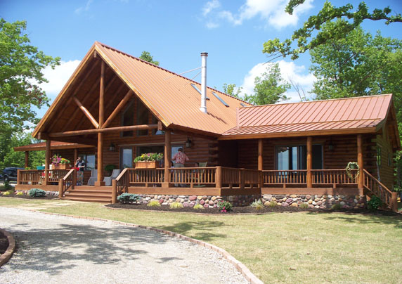 Ozark Mountain Amp Lake Log Homes Real Log Homes