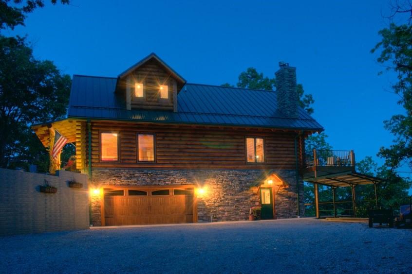 Ozark Mountain Amp Lake Log Homes Real Log Homes
