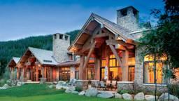 Timber Home Exterior