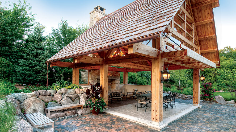 Timber-Frame Gazebo Inspiration