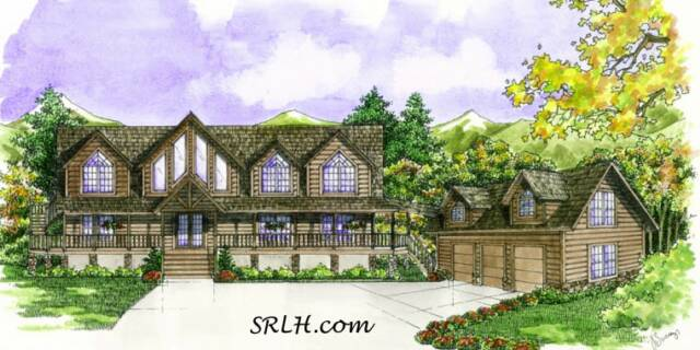Madison home plan by suwannee river log homes for Madison home builders house plans