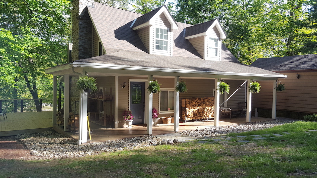 New Jersey Log Cabin Renovation
