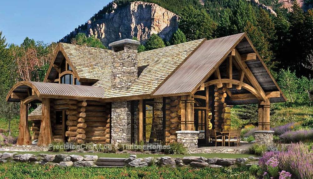 Upland Retreat By Precisioncraft Log Amp Timber Homes