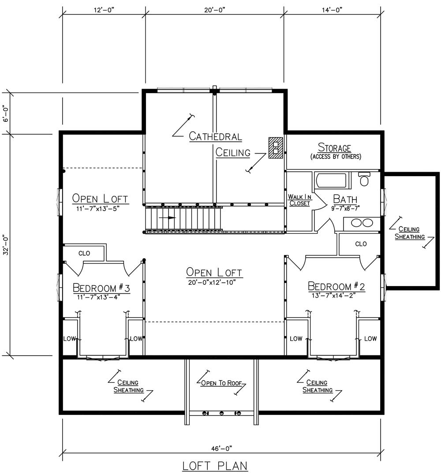 Norfolk Loft Plan