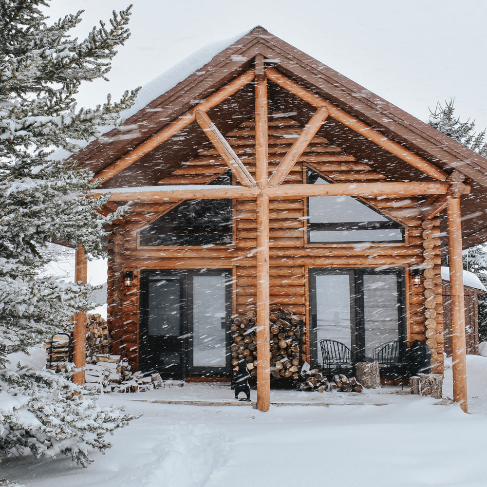 What Its Like To Move From A Big City To A Rural Log Cabin