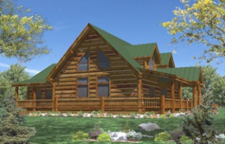 Eagle River Log Home Plan By Whisper Creek Log Homes