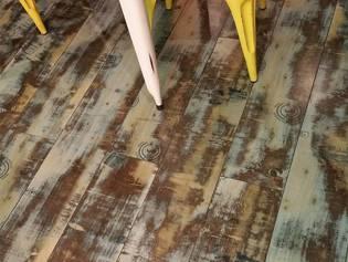 log home flooring