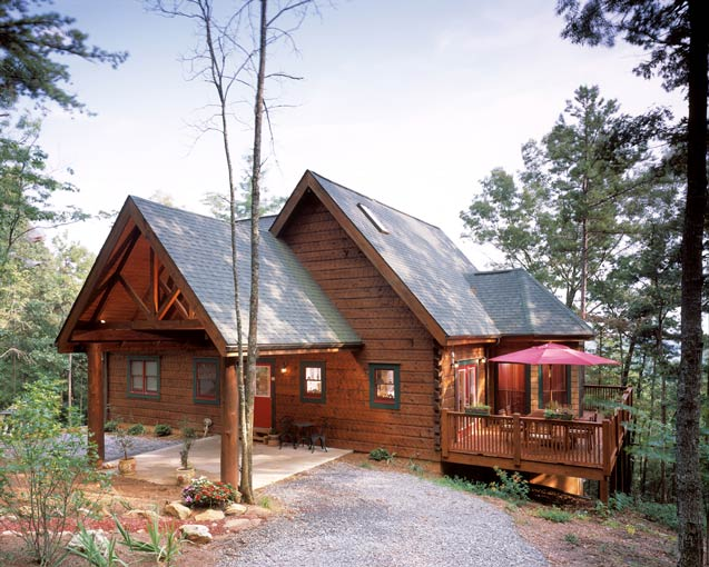Advice on how to build a cozy cabin on a budget for Www loghome com