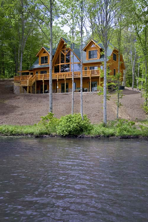 Against all odds planning a lakeside cabin for Lakeside home