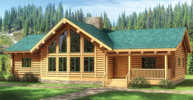 fall river log home plan by the original lincoln logs