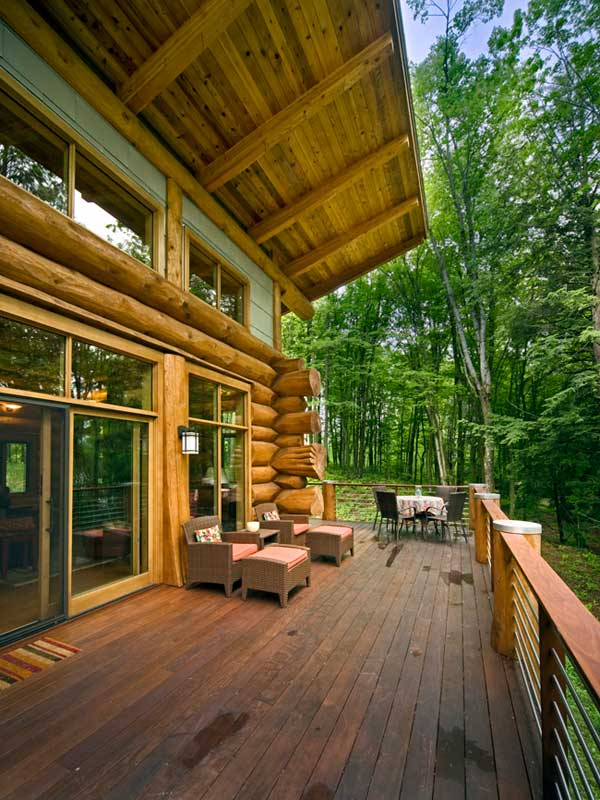 Rustic meet modern cozy wisconsin lakeside cabin for Cabins on lake michigan in wisconsin