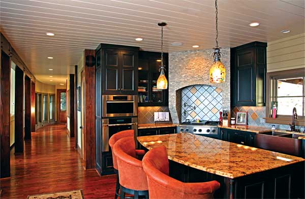 Using Color in a Log Home