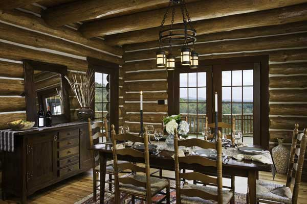 1000 Images About Home Decor On Pinterest  Rustic Feel Log Fascinating Western Style Dining Room Sets Inspiration