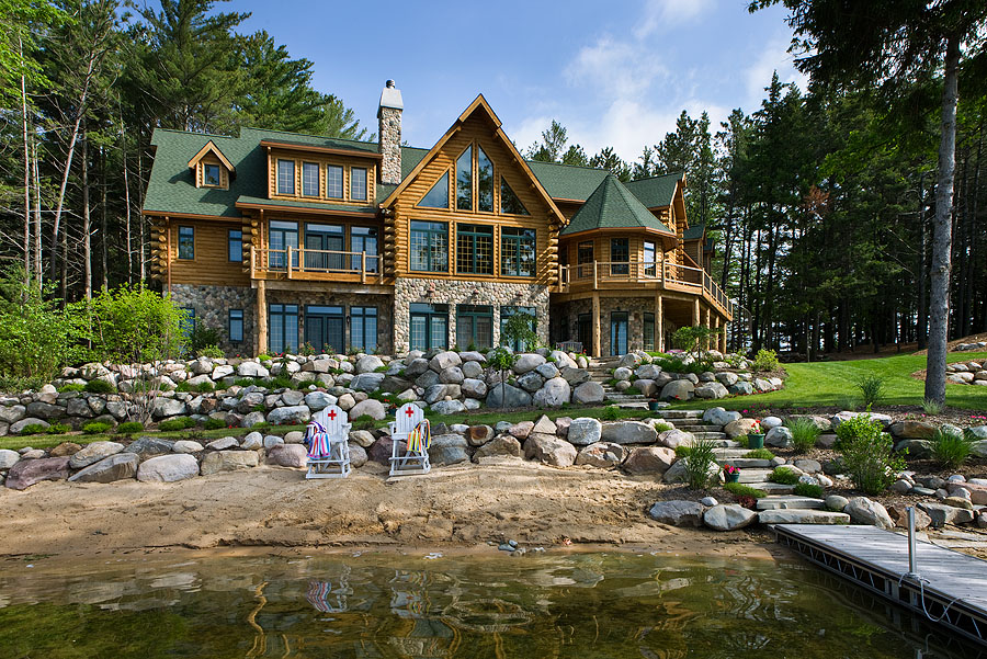 Lake House Plans | House Plans with a Point of View from