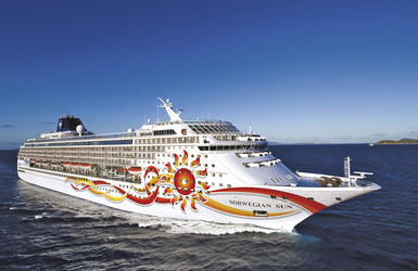 Norwegian sun2