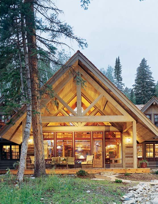 2-truss-of-log-home-sa1