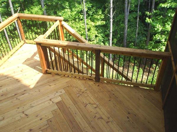 Exotic Woods For Log Home Decks