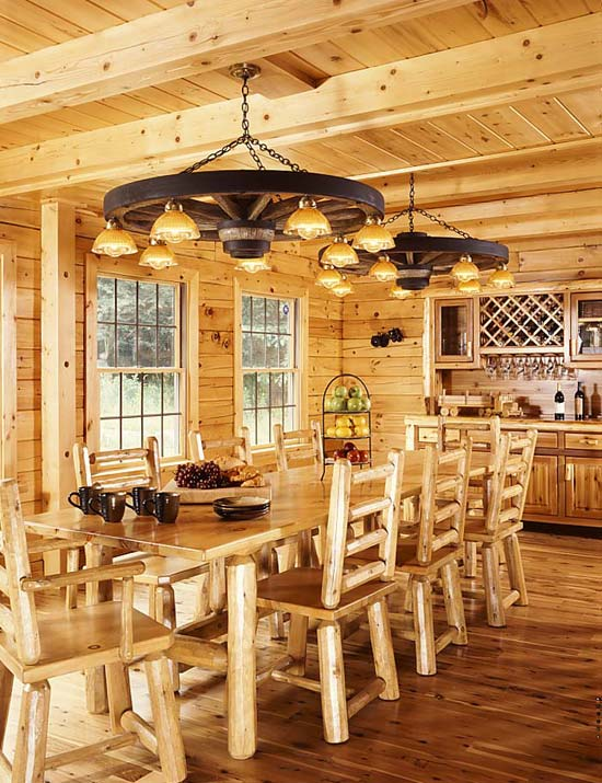 madtes_log_home_dining_room