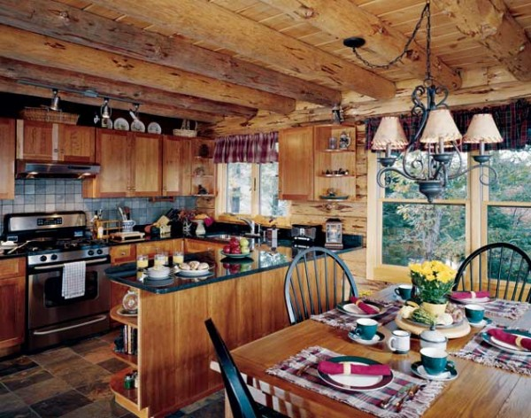 adirondack-lakeside-log-home-kitchen-600x472
