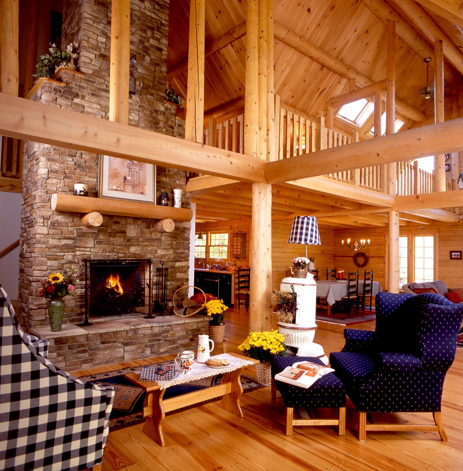 Home Pics: Ward Cedar Log Homes