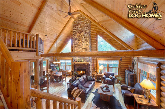 Golden Eagle Log & Timber Homes, cabin
