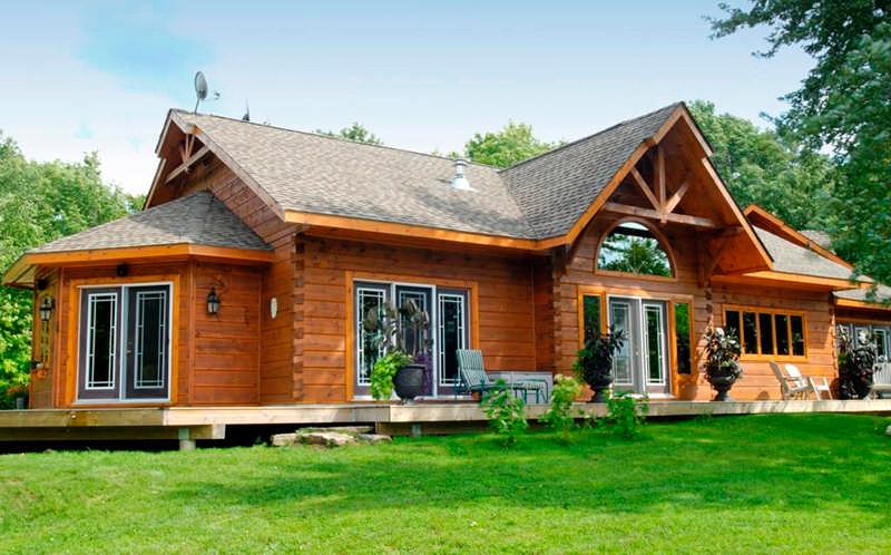 1867 Confederation Log Homes