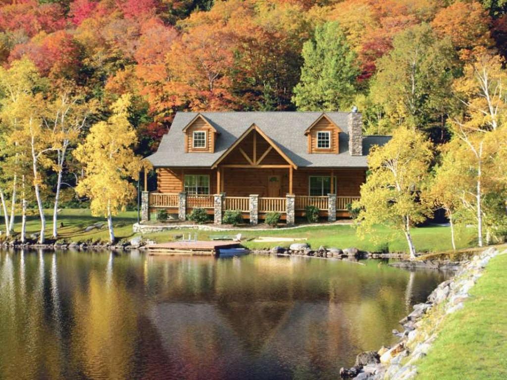 Blue ridge log cabins for Log cabin cost per square foot
