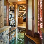 Petersen-Wyoming-reclaimed-timber-home-foyer