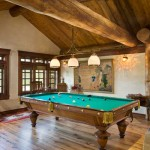Petersen-Wyoming-reclaimed-timber-home-game-room