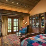 Petersen-Wyoming-reclaimed-timber-home-master-bedroom