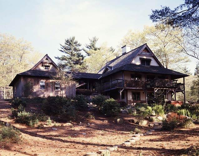 Japanese Inspired House a japanese-inspired timber frame house