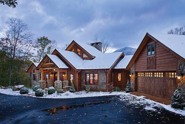 Living With Nature In A North Carolina Timber Frame Home