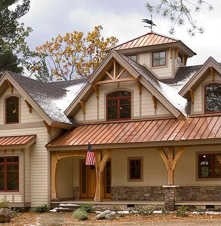 timber frame house of the month cozy quarters
