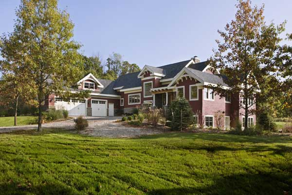 Platinum LEED Certified Post and Beam Timber Frame Home