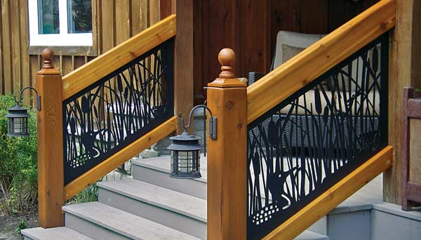 Tips on guard rails for your timber home
