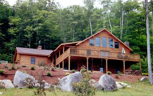 Cheyenne Log Home Plan By Coventry Log Homes Inc