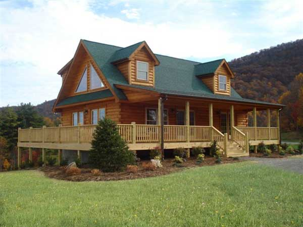 Highlands V Log Home Plan By Blue Ridge Log Cabins