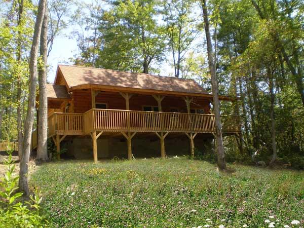 Lake Lure V Log Home Plan By Blue Ridge Log Cabins