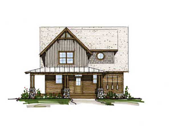 Cumberland Trace Home Plan By Mosscreek Designs