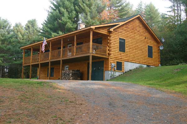 Meadows Log Home Plan By Coventry Log Homes