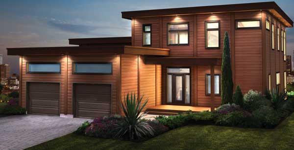 Sierra vista log home plan by timber block for Sierra home design