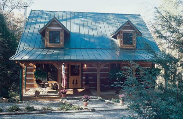 Belmont Log Home Plan By Stonemill Log Amp Timber Homes