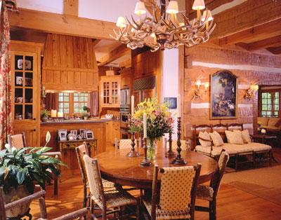 Studio Log Home Plan By Hearthstone Inc
