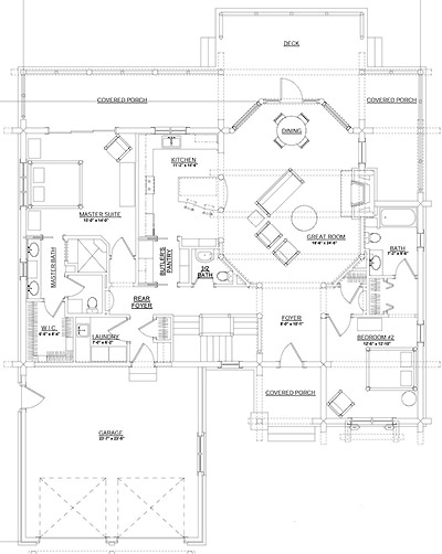 Jasmine log home plan by rocky mountain log homes for Colorado mountain home plans