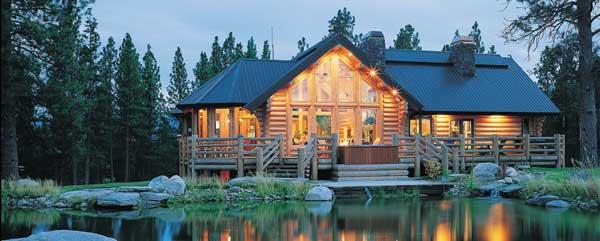 Gem lake log home plan by rocky mountain log homes for Rocky mountain log homes floor plans