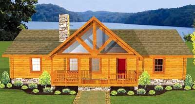 Hartford Log Home Plan By Daniel Boone Log Homes