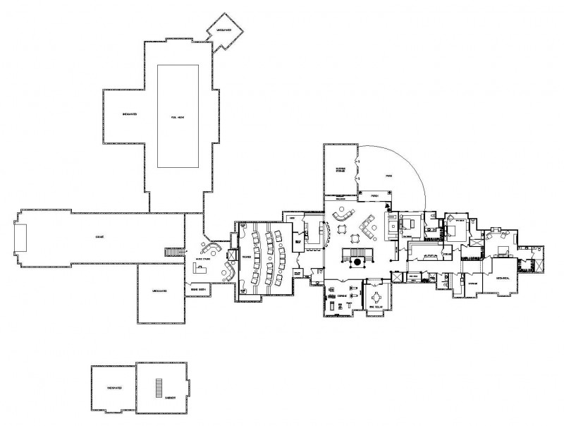 Grand teton estate luxury floor plan by wisconsin log homes for Luxury log homes floor plans