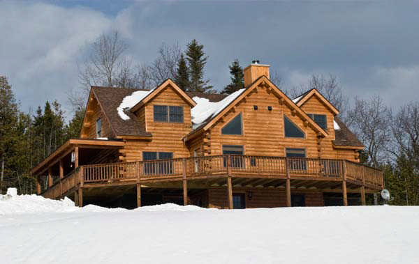 Brentwood home plan by coventry log homes for Brentwood house plan