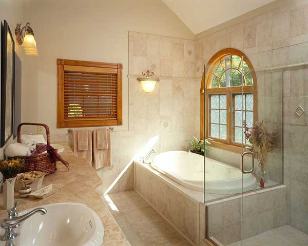 A Variety Of Lighting Styles Can Ensure Safety In The Bathroom, As Well As  Create A Relaxing Ambience. Consider Installing Dimmers To Control The Mood.